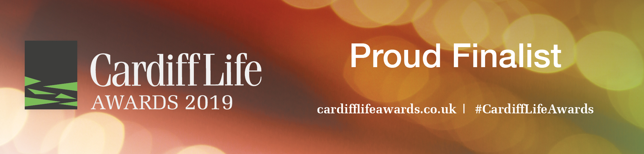Proud Finalist at the Cardiff Life Awards